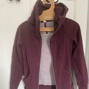 Lululemon Zip up Scuba hoodie